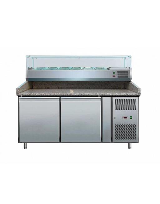 Artikcold Prep Granite Counter Commercial Refrigeration - Cold prep table for sale