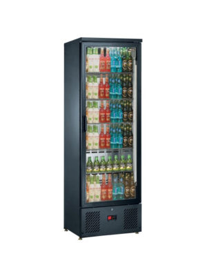 bottle-chiller-blizzard-bar10-black-upright-bar-single-door-display