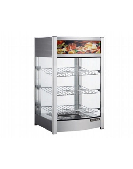 heated-merchandiser-blizzard-cth137-aluminium-counter-top-glass-door