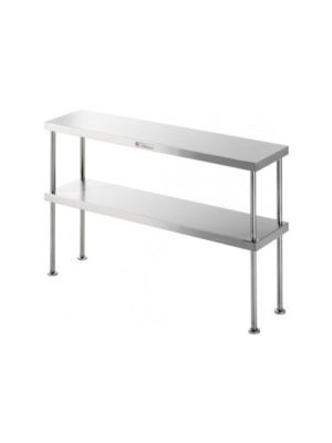 overshelf-simply-stainless-ss131200-stainless-steel-double-bench