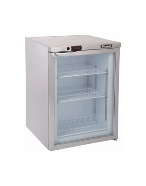 undercounter-freezer-blizzard-ucf140cr-single-glass-doorundercounter-freezer-blizzard-ucf140cr-single-glass-door