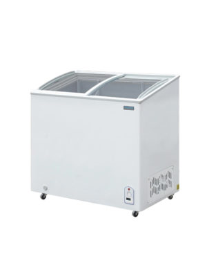 chest-display-polar-cm434-white-laminated-sliding-glass-top-freezer