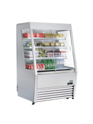 chilled-multideck-polar-cm287-stainless-steel-lockable-sliding-door