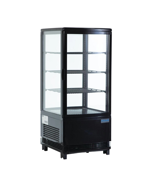 curved-glass-display-polar-g211-black-laminated-single-door-chiller