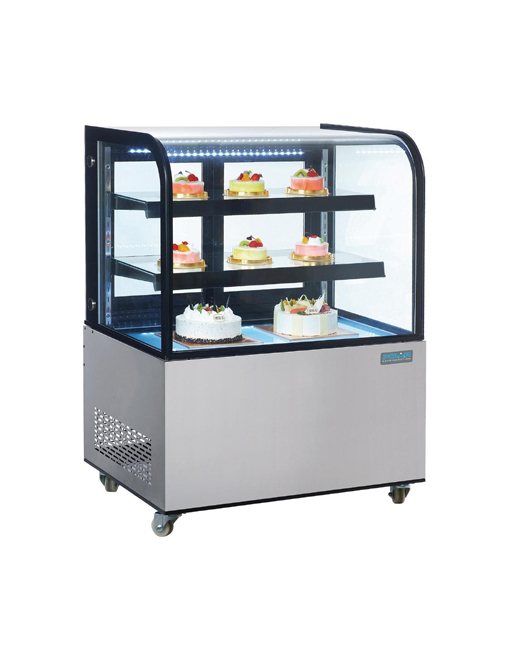 deli-display-polar-cg841-stainless-steel-curved-glass-cooled-counter