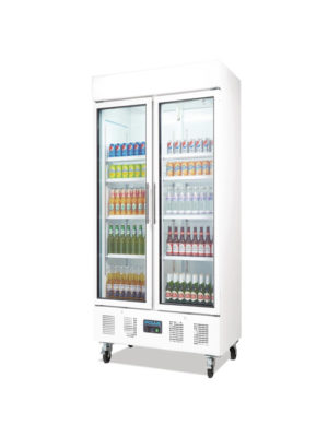 double-door-display-polar-cd984-white-laminated-glass-upright-fridge
