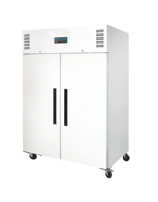 double-solid-door-polar-cd616-white-laminated-upright-freezer