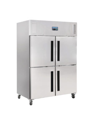 double-stable-door-polar-cw196-stainless-steel-gastro-upright-freezer