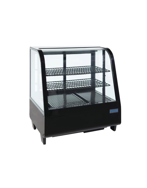 refrigerated-display-polar-cc611-black-laminated-multideck-serveover
