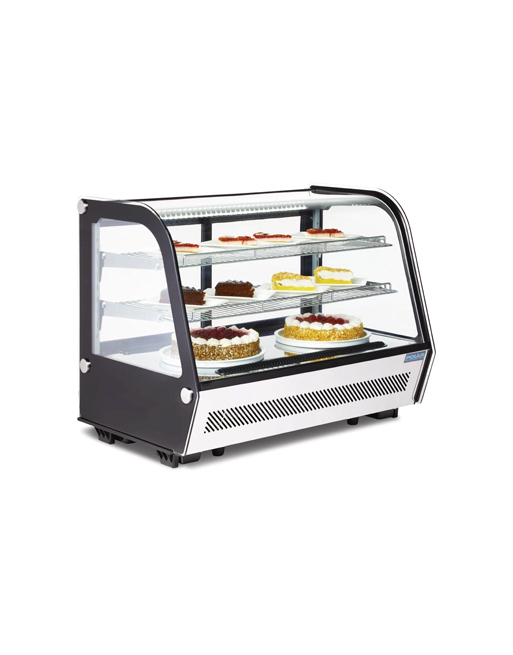 refrigerated-serveover-polar-cd230-black-laminated-display-counterrefrigerated-serveover-polar-cd230-black-laminated-display-counter