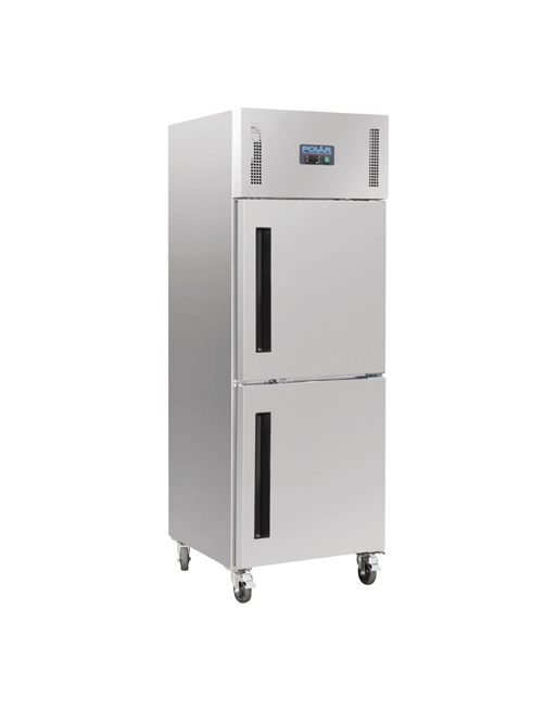 single-stable-door-polar-cw194-stainless-steel-gastro-upright-freezer