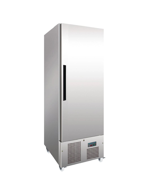 slimline-upright-freezer-polar-g591-stainless-steel-single-door