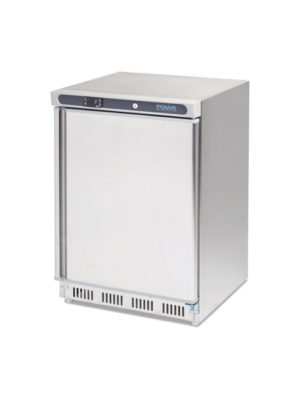 undercounter-freezer-polar-cd081-stainless-steel-single-solid-door