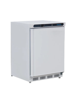 undercounter-fridge-polar-cd610-white-laminated-single-solid-door