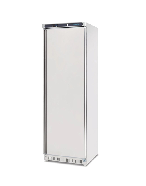 upright-freezer-polar-cd083-stainless-steel-solid-single-door-storage