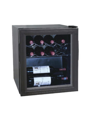 wine-display-polar-ce202-black-laminated-single-glass-door-cooler