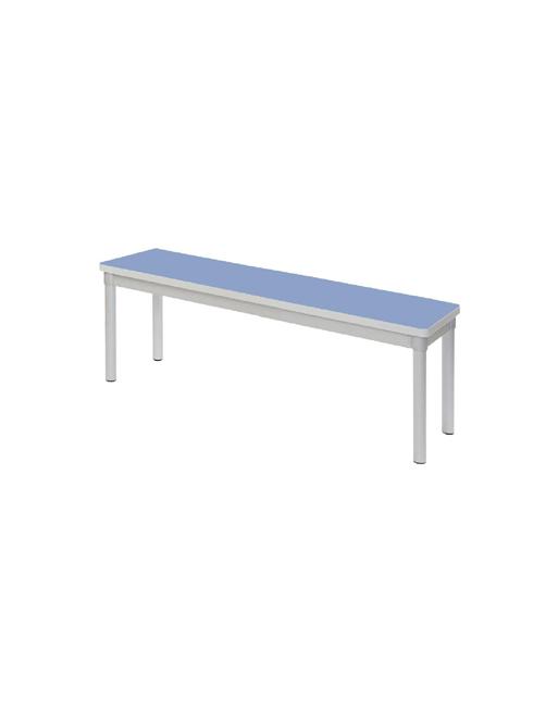 dining-bench-gopak-ge976-aluminium-enviro-indoor-campanella-blue