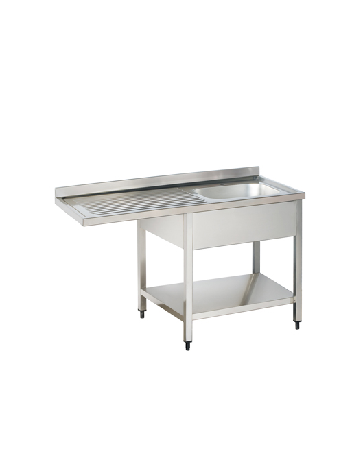 Sinks SRDR Right Side Bowl Stainless Steel Dishwasher Sink - Stainless steel dishwasher table