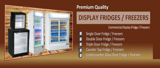 Commercial Display Fridges Freezer